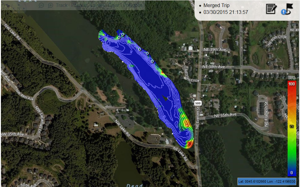 Create Interactive Aquatic Habitat Maps While Electrofishing