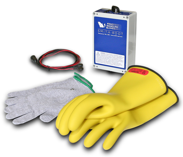 Electric Fish Handling Gloves